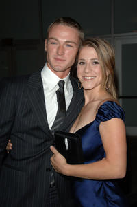Jake McLaughlin and Stephanie at the California premiere of