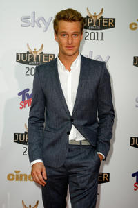 Alexander Fehling at the Jupiter Award 2011 in Germany.