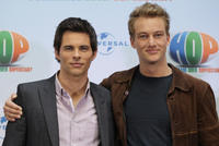 James Marsden and Alexander Fehling at the photocall of