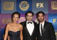 Alicja Bachleda, Colin Farrell and Ryan Bingham at the FOX 2010 Golden Globes party.