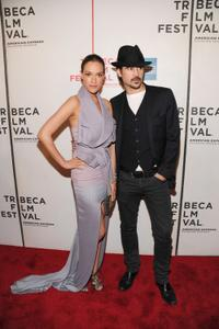 Alicja Bachleda and Colin Farrell at the premiere of