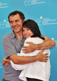 Merab Ninidze and Chulpan Khamatova at the photocall of