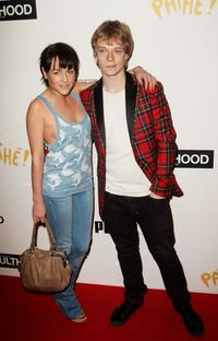 Jaime Winstone and Alfie Allen at the UK premiere of
