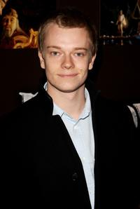 Alfie Allen at the European premiere of