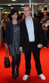 Lily Allen and Alfie Allen at the premiere of