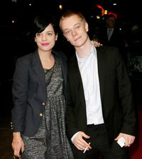 Lily Allen and her Brother Alfie Allen at the screening of