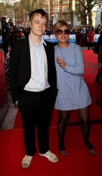 Alfie Allen and his Sister Lily Allen at the UK premiere of