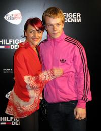 Jaime Winstone and Alfie Allen at the Hilfiger Sessions.