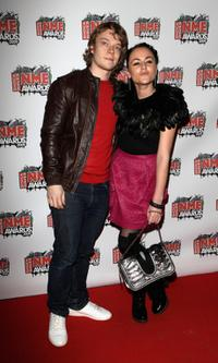 Alfie Allen and Jaime Winstone at the Shockwaves NME Awards 2009.