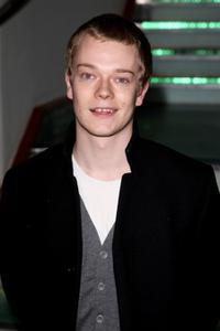 Alfie Allen at the World premiere of