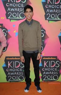 Dev Patel at the 23rd Annual Kids' Choice Awards.