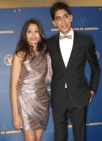Freida Pinto and Dev Patel at the 61st Annual Directors Guild of America Awards.