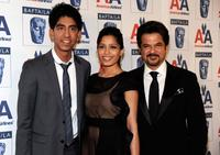 Dev Patel, Freida Pinto and Anil Kapoor at the 8th Annual British Academy Of Film And Television Arts Britannia Awards.