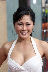 Cathy Shim at the premiere of