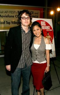 David Boyle and Cathy Shim at the world premiere of