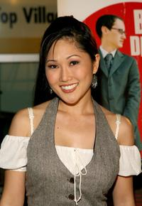 Cathy Shim at the world premiere of