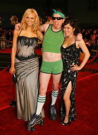 Irina Voronina, Nick Swardson and Cathy Shim at the premiere of