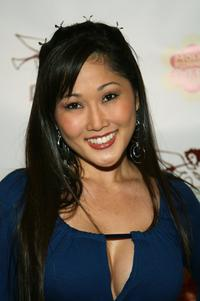 Cathy Shim at the opening night of