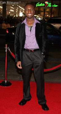 Adetokumboh M'Cormack at the California premiere of