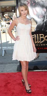 Lauren McKnight at the premiere of