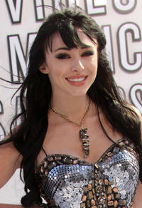 Lauren McKnight at the 2010 MTV Video Music Awards in California.