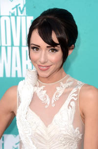 Lauren McKnight at the 2012 MTV Movie Awards in California.