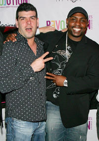 Jason Ojeda and Christopher Holley at the DVD Launch party of