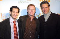 Jeremy Glazer, William Dennis Hutley and Robert Gant at the GLAAD Media Nominations Announcement during the 2007 Sundance Film Festival.