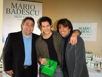 Jack M.Cabasso, Jeremy Glazer and Tom Delorenzo at the Stuart Weitzman Luxury Suite.