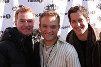 William Hurley, Chad Allan and Jeremy Glazer at the 11th Annual Outfest's Queer Brunch presented By Here! Networks.
