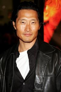 Daniel Kim at the premiere of