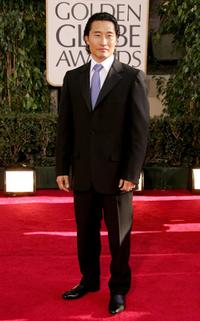 Daniel Kim at the 64th Annual Golden Globe Awards.
