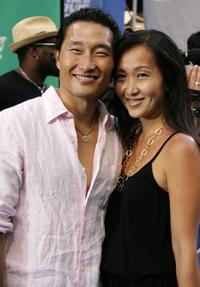 Daniel Kim and Guest at the 2006 MTV Movie Awards.