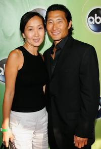 Daniel Kim and Guest at the ABC Television Network Upfront.