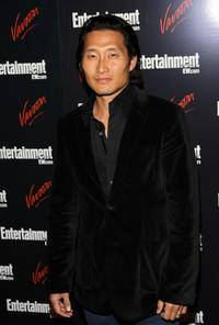 Daniel Kim at the Entertainment Weekly and Vavoom annual upfront party.