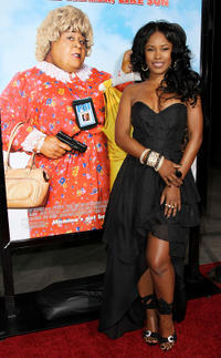 Jasmine Burke at the California premiere of