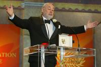 Philippe Noiret at the award the 56th International Cannes Film Festival.