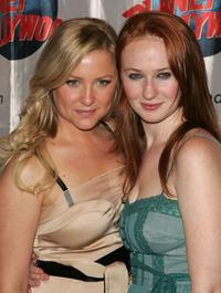 Jessica Capshaw and Halley Feiffer at the after party of the opening night of