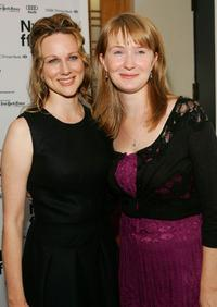 Laura Linney and Halley Feiffer at the New York Film Festival.