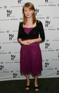 Halley Feiffer at the New York Film Festival.