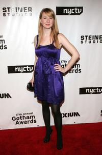 Halley Feiffer at the 17th Annual Gotham Awards.