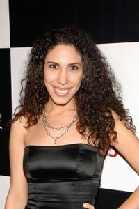 Yasmine Hananika at the premiere of