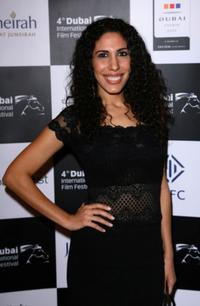 Yasmine Hanani at the premiere of