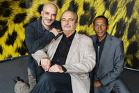 Rabah Ameur Zaimeche, Jacques Nolot and Christian Milia Darmezin at the photocall of