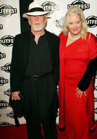 Nick Nolte and Sally Kirkland at the premiere of