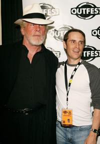 Nick Nolte and Dave Courierat at the premiere of