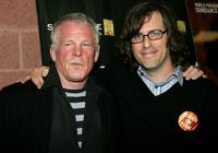 Nick Nolte and Brett Morgen at the premiere of