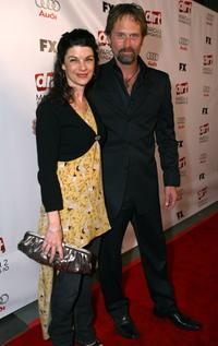 Francia Nordling and Jeffrey Nordling at the 2nd season premiere screening of