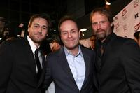 Ryan Eggold, John Landgraf and Jeffrey Nordling at the 2nd season premiere screening of