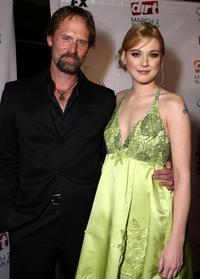 Jeffrey Nordling and Alexandra Breckenridge at the 2nd season premiere screening of